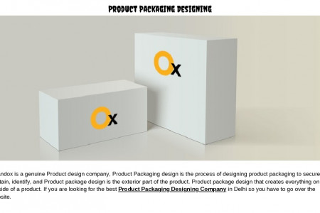 iBrandox | Product Packaging Designing Company in Delhi Infographic