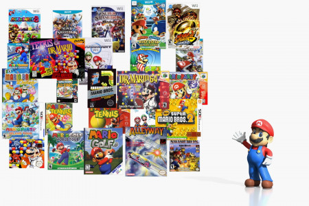 IGN Every Mario Game Ever Infographic