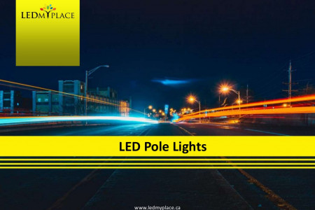Illuminate the Wide Areas and Outdoor Spaces by LED Pole Lights Infographic