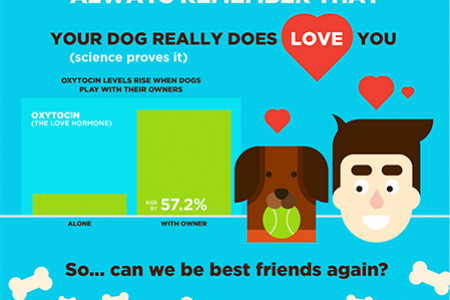 I'm a Dog. I Hate Hugs. Get Over it. Infographic