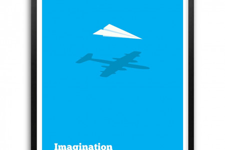 Imagination Decides Everything Infographic