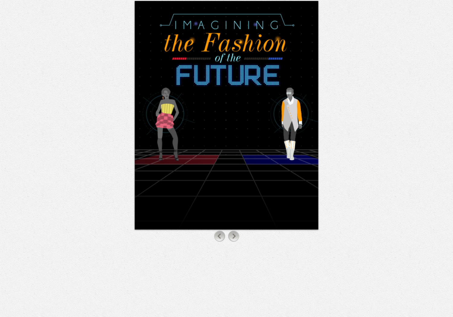 Imagining the Fashion of the Future Infographic