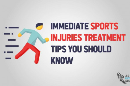Immediate Sports Injuries Treatment Tips You Should Know Infographic