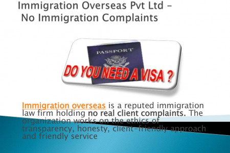 Immigration Overseas Pvt Ltd - No Complaints for Immigration  Purpose Infographic
