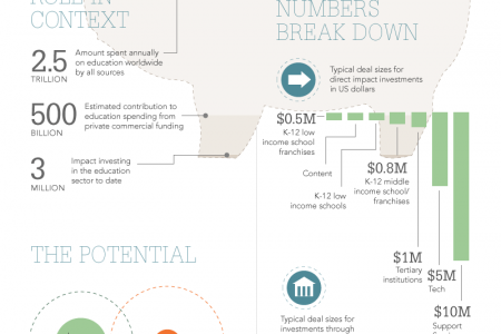 Impact Investing in Education Infographic