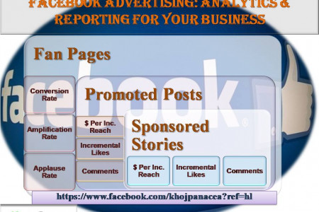 Impact of Facebook Advertising on Your Business Infographic