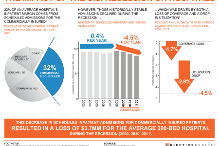 Impact of US Recession on Hospitals Infographic