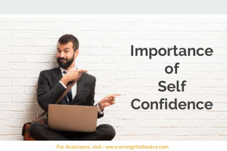 Importance  of  Self Confidence  Infographic