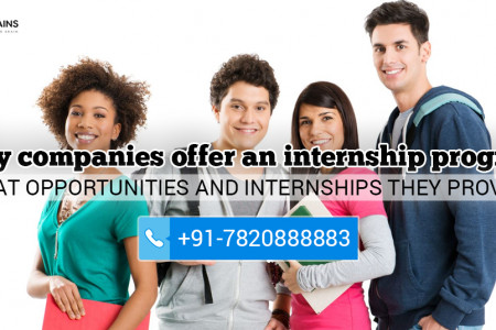 Importance of Internships for Students as Well as Organisations Infographic