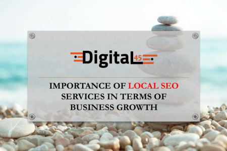Importance of Local SEO services in terms of business growth Infographic