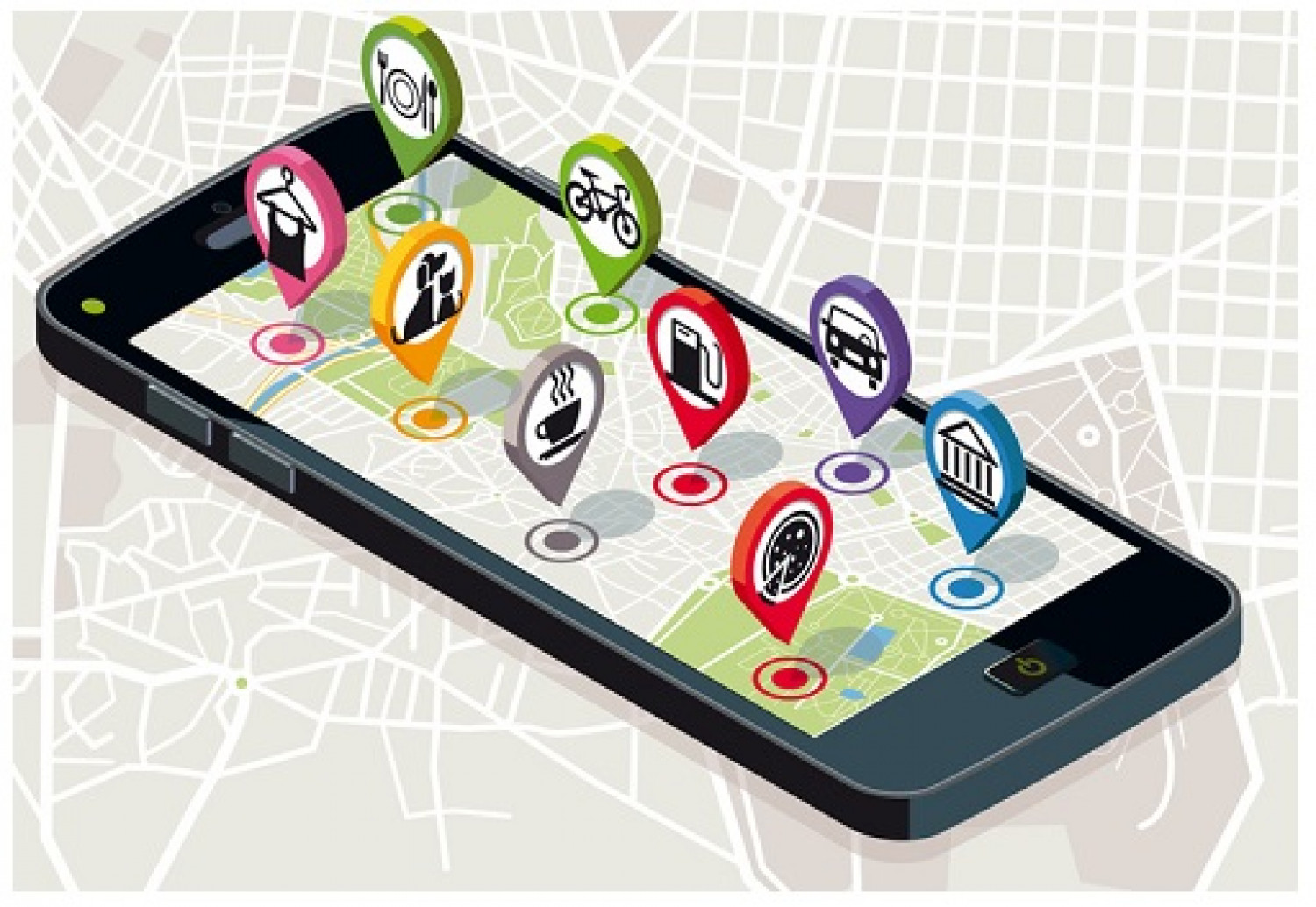 Importance of location based apps for businesses Infographic