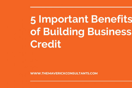 Important Benefits of Building Business Credit Infographic