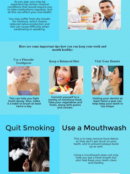 Important Dental Care Tips for Adults Infographic