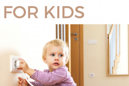 Important Electrical Safety Tips for Kids Infographic