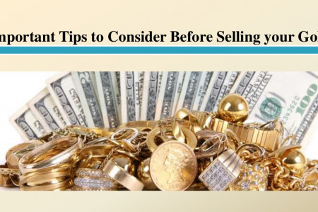 Important Tips to Consider Before Selling your Gold Infographic