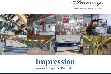 Impression systems & engineers - OEM for material handling, robotics and automation systems in india Infographic