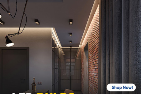 Improve Your Indoor Area Lights With These LED Bulbs Infographic