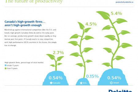 In Canada, High-growth firms aren't high-growth enough Infographic