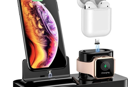 In the USA Get online Wireless charger with Fenniamore Infographic