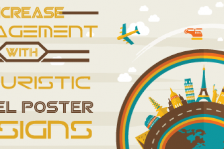 Increase Engagement with Futuristic Travel Poster Designs Infographic