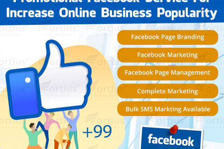 Increase Online Business Popularity Through Facebook & Bulk SMS Service Infographic