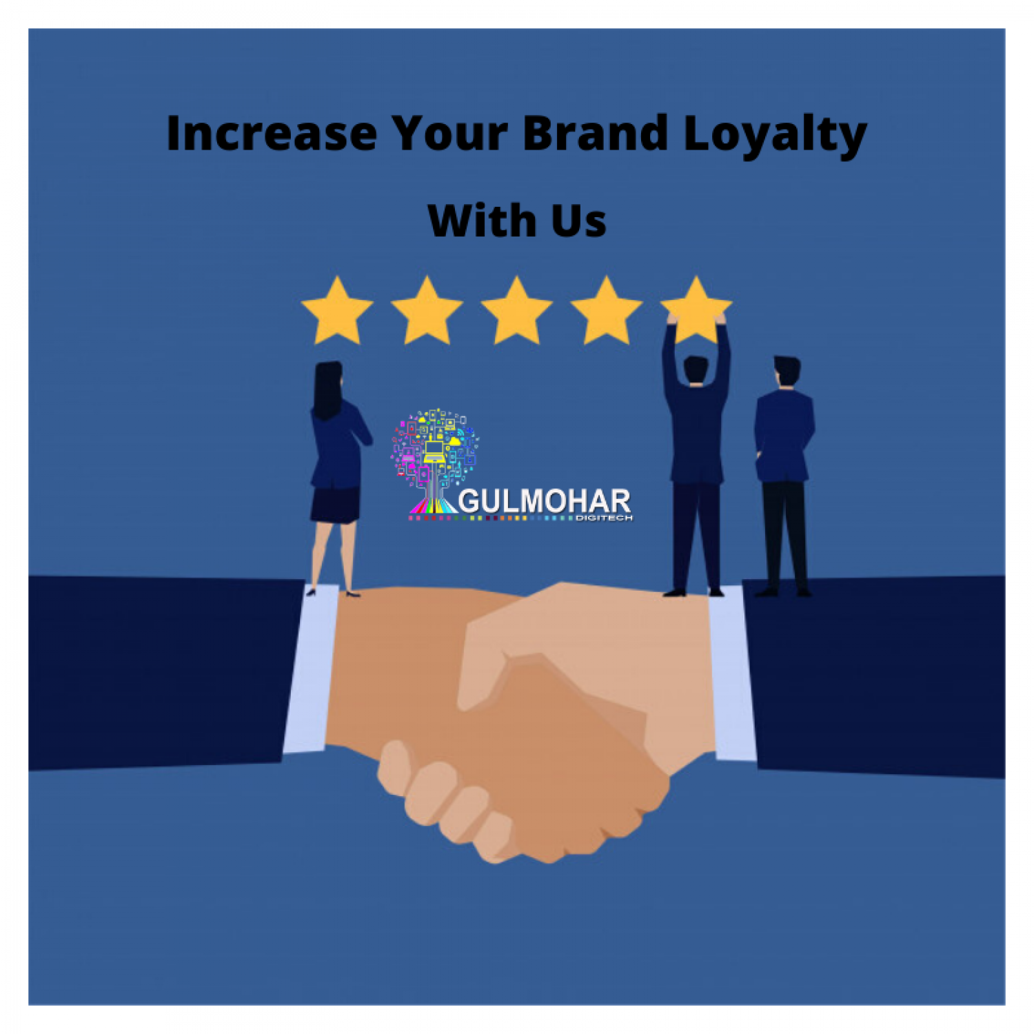 Increase your Customer Loyalty Infographic