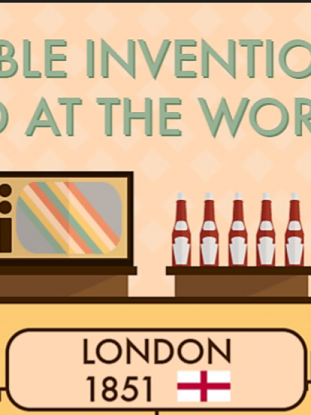 Incredible Inventions That Debuted At The World Expo Infographic
