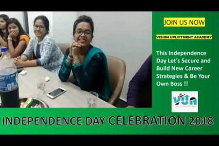 Independence Day Celebration 2018 Vision Upliftment Academy Infographic