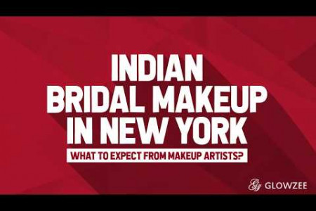 Indian Bridal Makeup in New York—What to Expect from Makeup Artists? Infographic