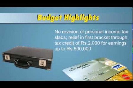 Indian Budget 2013-14 - A Brief Overview Infographic