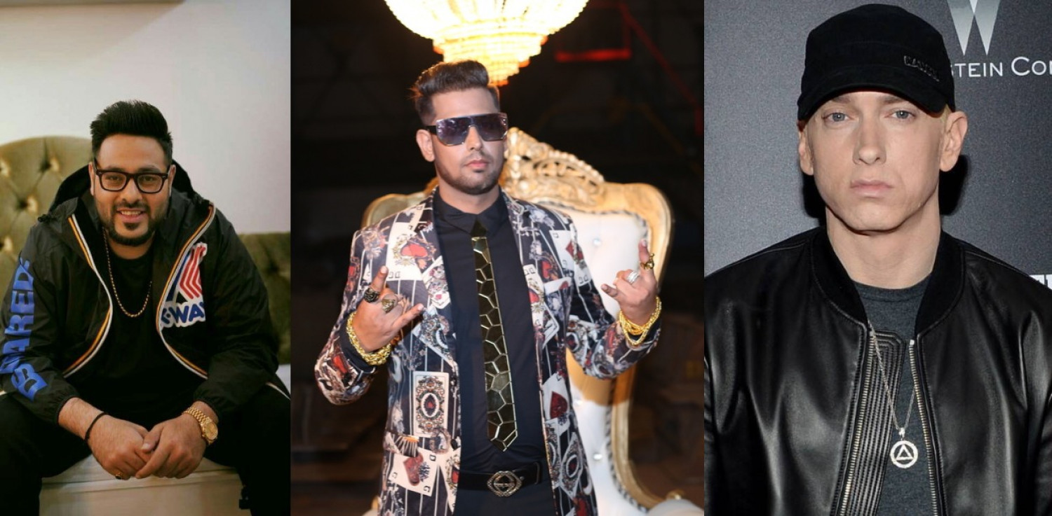 Indian Rappers Badshah and Royal Munda OJ to collaborate with Eminem , Cardi B Infographic