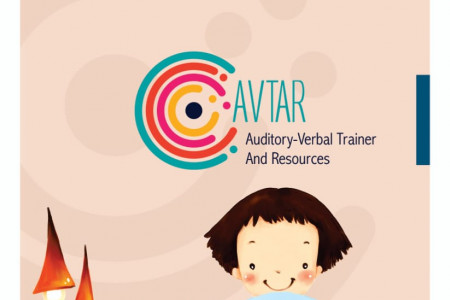 """India's First Language and Speech Therapy mobile app """"AVTAR"""" Infographic"""