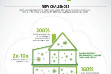 Indoor Air Quality Infographic Infographic