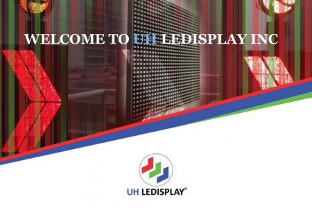 Indoor LED Display | Curved LED Display | UH LEDISPLAY  Infographic