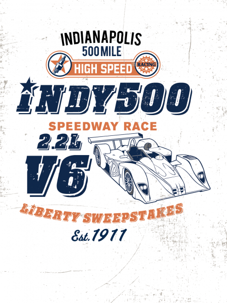 Indy 500 Infographic