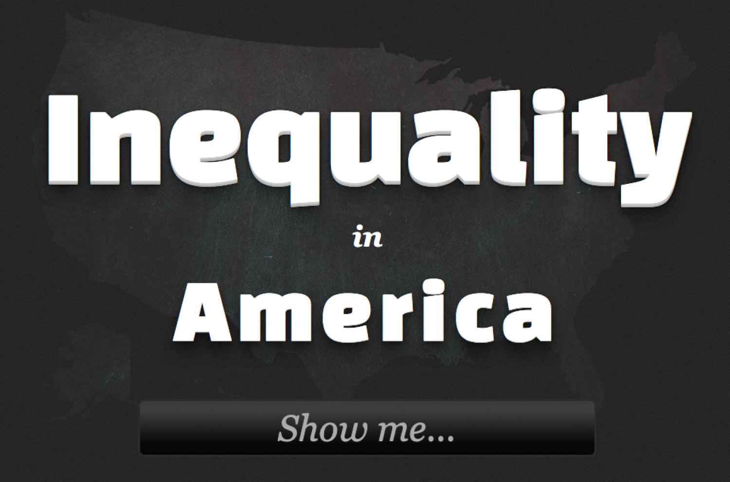 Inequality in America Infographic