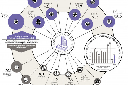 Inflation in Germany Infographic