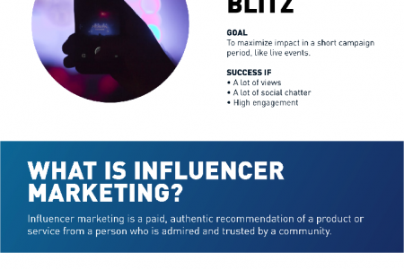 Influencer Marketing ROI guide Infographic