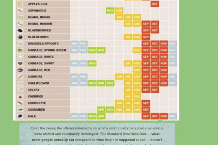 Infographic - Organic Healthy Food Infographic