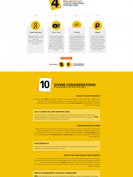 Infographic - Website Page Load Time Optimization: A must for good UX! Infographic