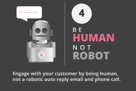 [INFOGRAPHIC] 7 Expected Attitudes of a Great Customer Service Infographic