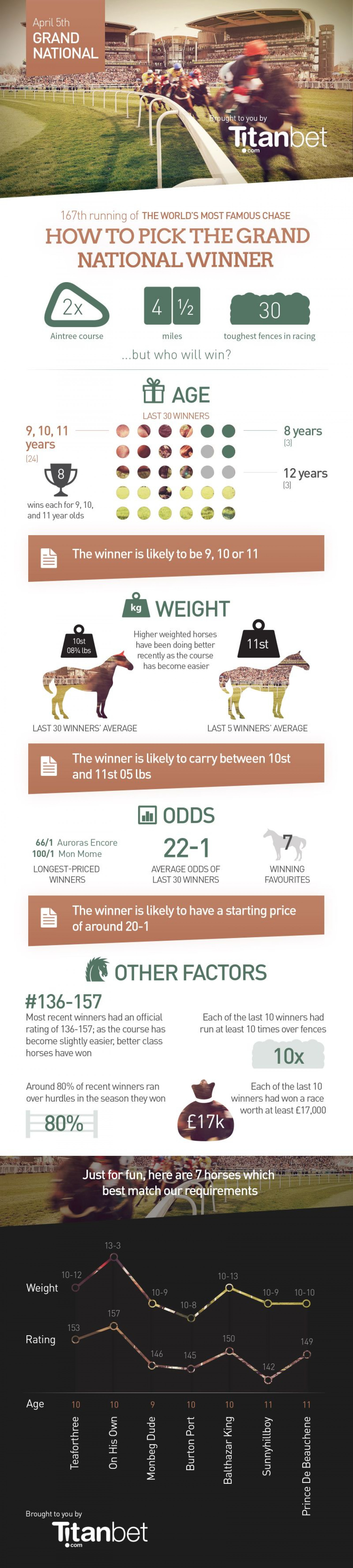 Grand National Infographic