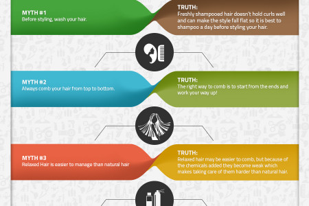 Infographic: Hair Myths Part – 2 Infographic
