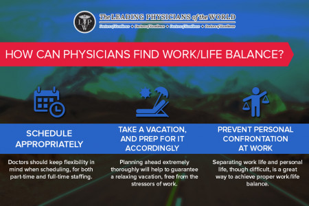 Infographic: How can Physicians find Work/Life Balance? Infographic