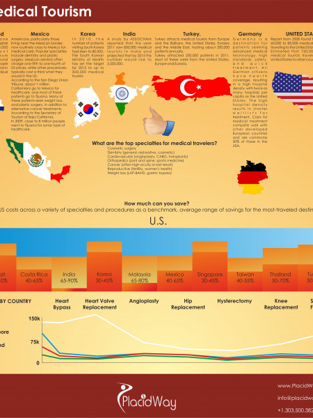 Medical Tourism  Infographic