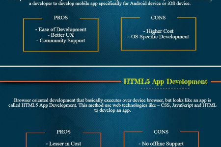 (Infographic) Native or HTML5 Or Hybrid App Development? Infographic