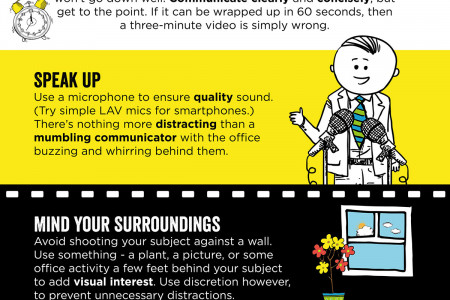 Infographic: Video Skills for Internal Communicators Infographic