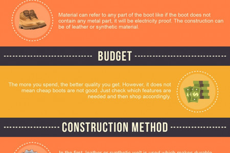 [Infographic] What To Consider Before Buying Work Boots? Infographic