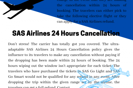 Information about SAS Cancellation Fees Infographic