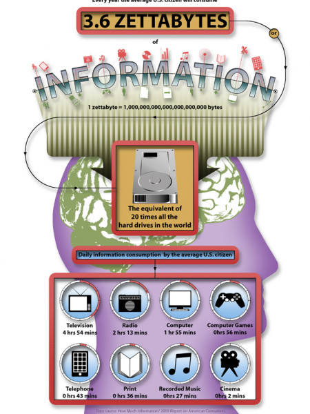 Information Consumption Infographic Infographic